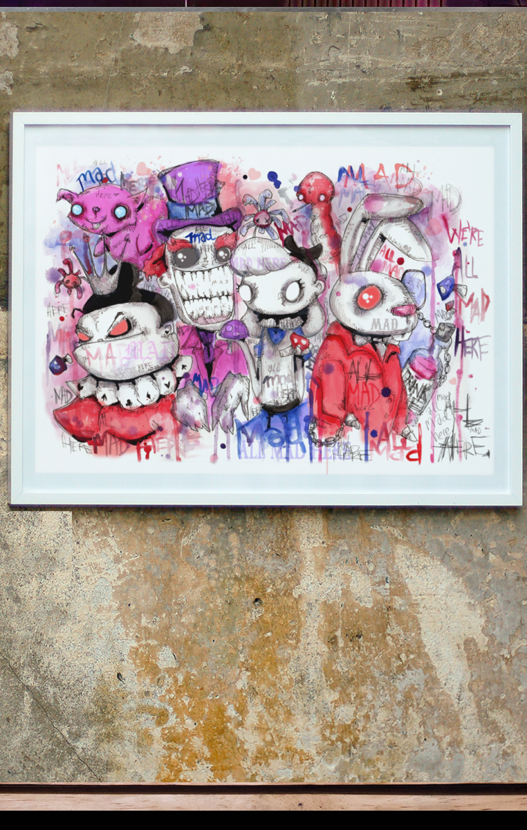 All Mad A4 Print RRP £4.99-£9.99