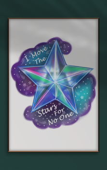 Move The Stars A4 Print
