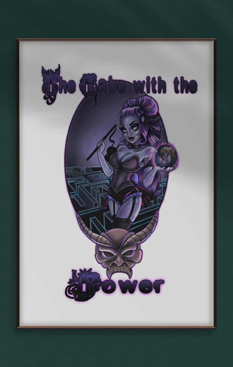 Babe With The Power A4 Print RRP £4.99-£9.99