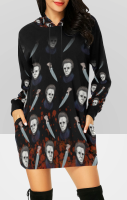 Michael Myers Hooded Dress