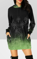 Aliens Hooded Dress