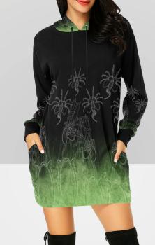Aliens Hooded Dress