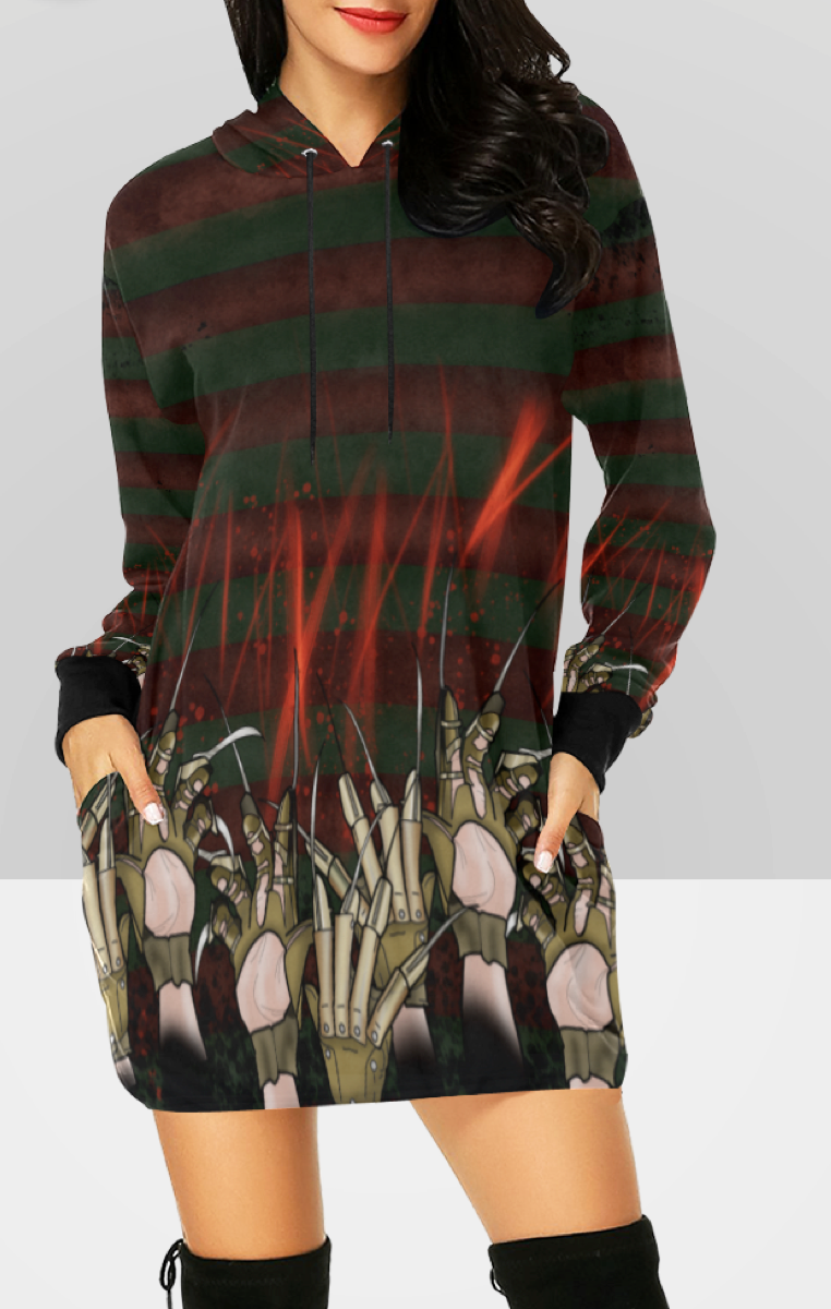 Elm Street Hooded Dress RRP £49.99