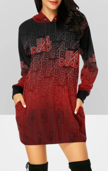 Evil Dead Hooded Dress
