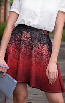 Evil Dead Skater Skirt