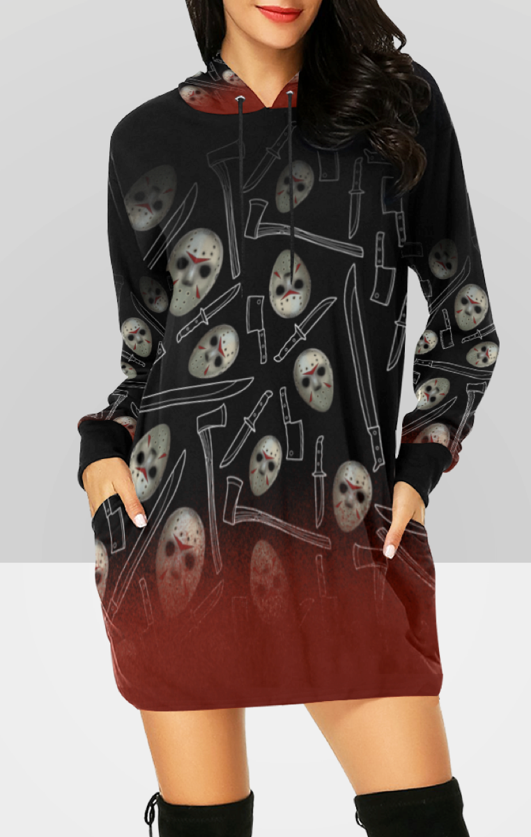 Friday 13th Hooded Dress RRP £49.99