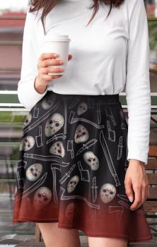 Friday 13th Skater Skirt