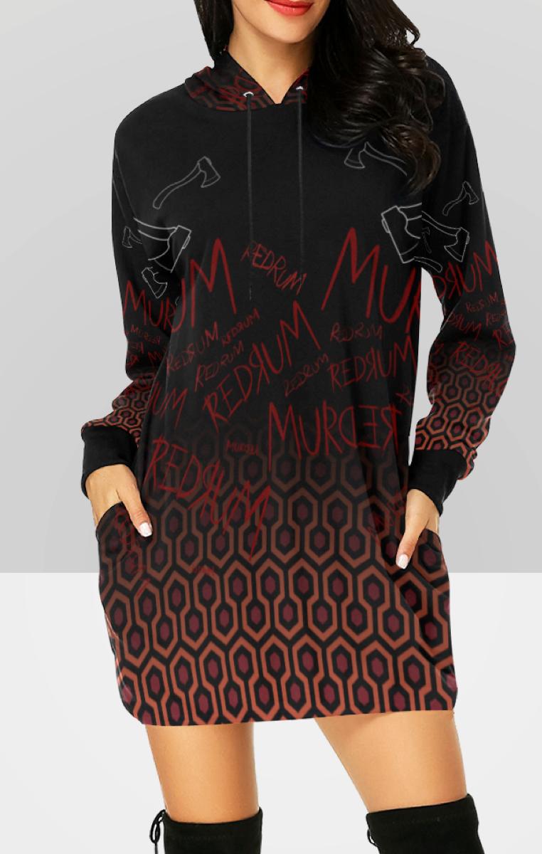 Redrum Hooded Dress RRP £49.99