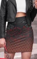 Redrum Pencil Skirt