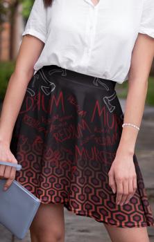 Redrum Skater Skirt
