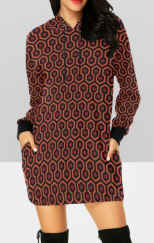 Shining Hooded Dress
