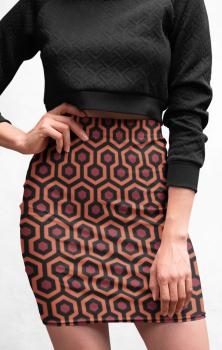 Shining Pencil Skirt