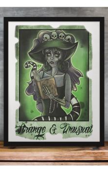 Lydia Strange & Unusual A4 Print