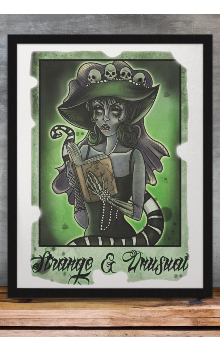 Lydia Strange & Unusual A4 Print RRP £4.99-£9.99
