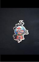 Crystal Ball Tattoo Pin Badge