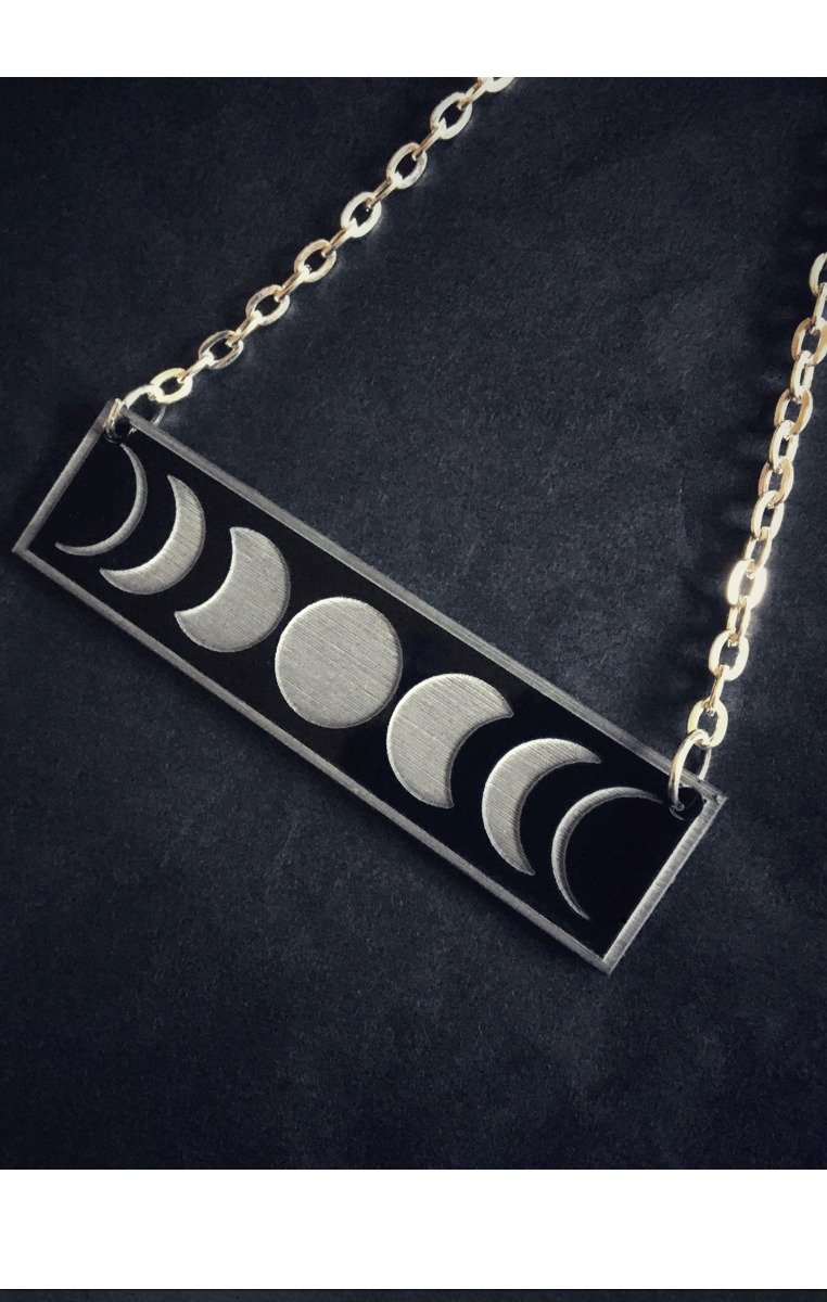 Moon Phase Necklace RRP £4.99