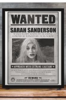 Wanted Sarah Sanderson A4 Print