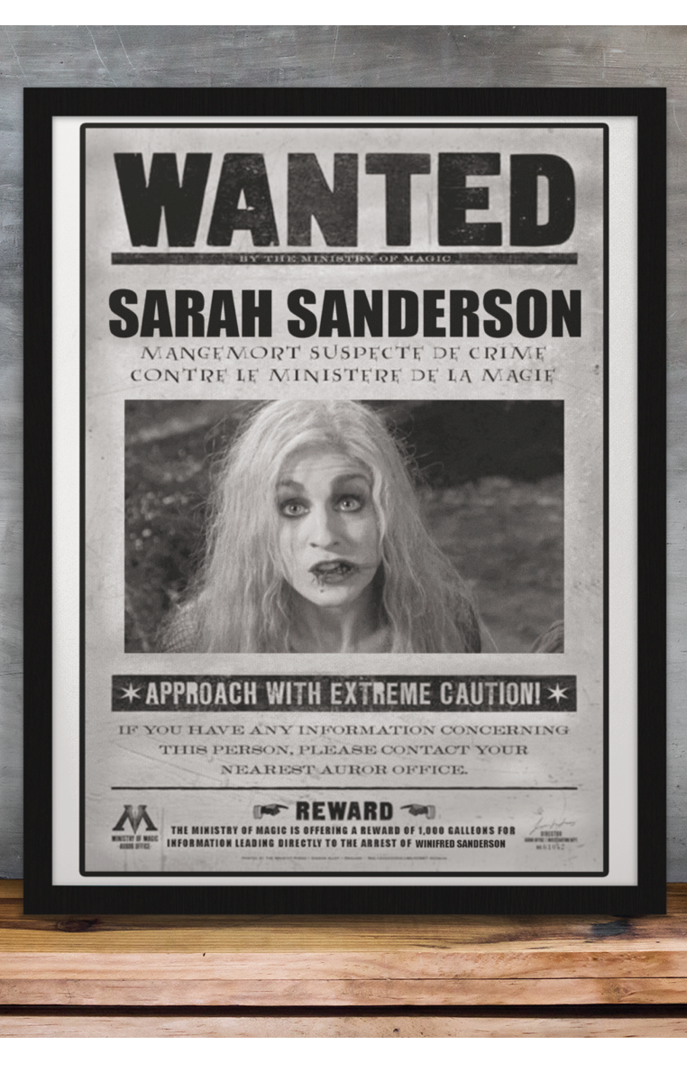 Wanted Sarah Sanderson A4 Print RRP £4.99-£9.99