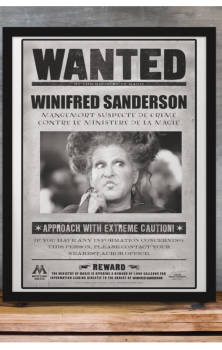 Wanted Winifred Sanderson A4 Print