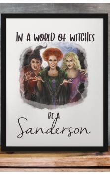 Be A Sanderson A4 Print