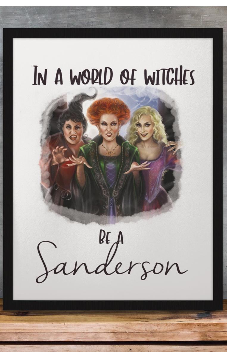 Be A Sanderson A4 Print RRP £4.99-£9.99