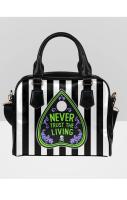 NEVER TRUST THE LIVING Bowler Bag