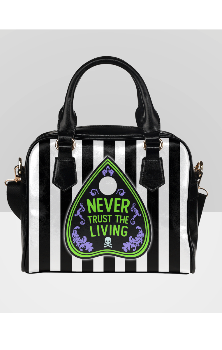 NEVER TRUST THE LIVING Bowler Bag