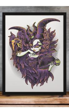 Malevolent Gaze A4 Print