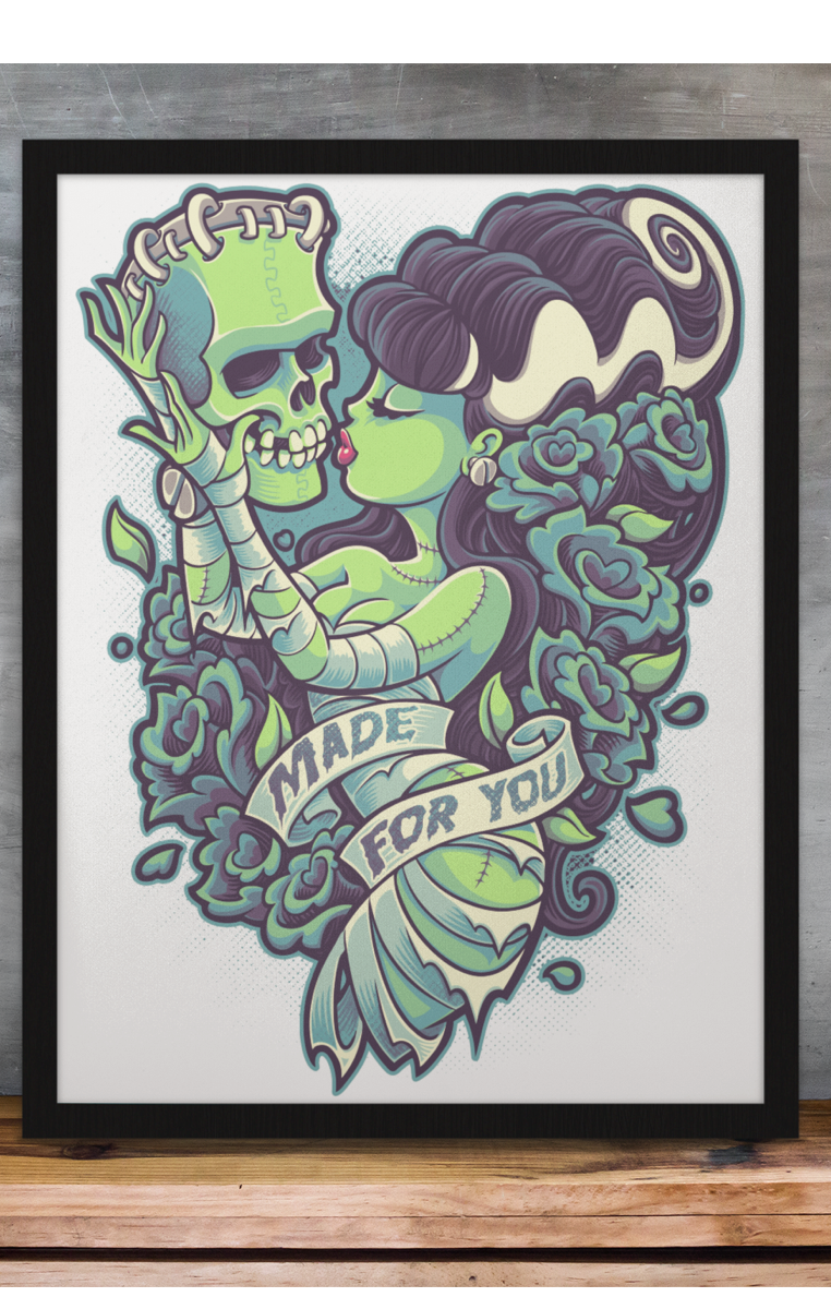 Made For You A4 Print RRP £4.99-£9.99