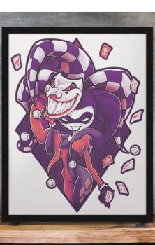 Masquerade A4 Print
