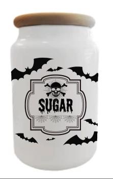 Batty Sugar Jar