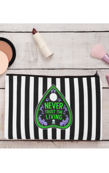 Never Trust The Living Make Up Bag