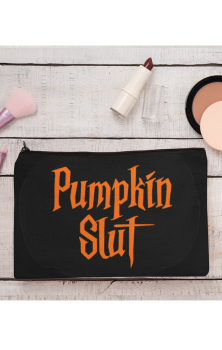 Pumpkin Slut Make Up Bag