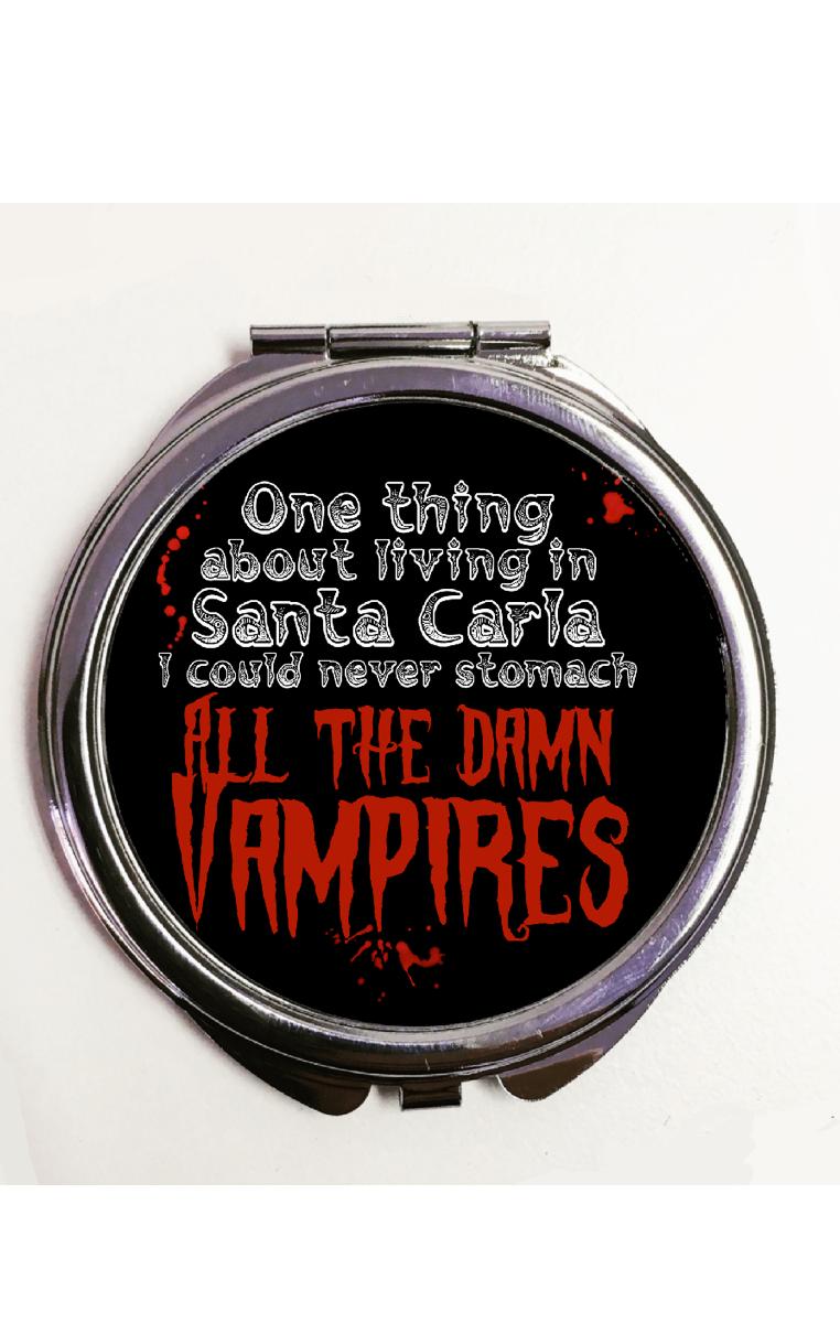 Damn Vampires Compact Mirror