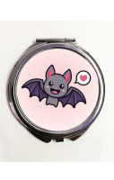 Cute Bat Compact Mirror