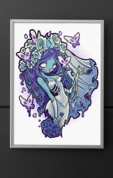 Decaying Dreams A4 Print
