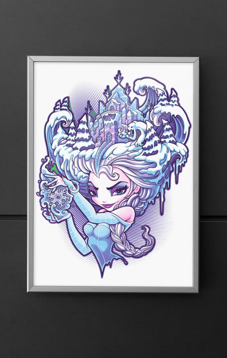 Elsa A4 Print RRP £4.99-£9.99