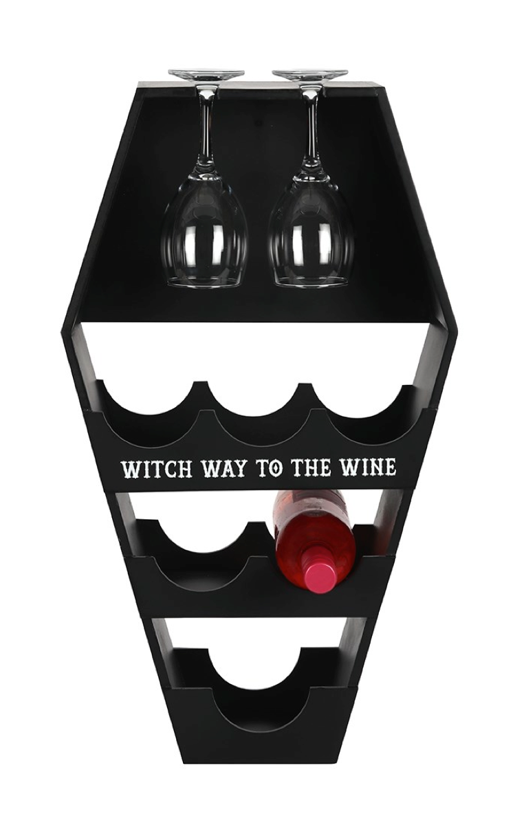 Coffin Wine Rack RRP £39.99