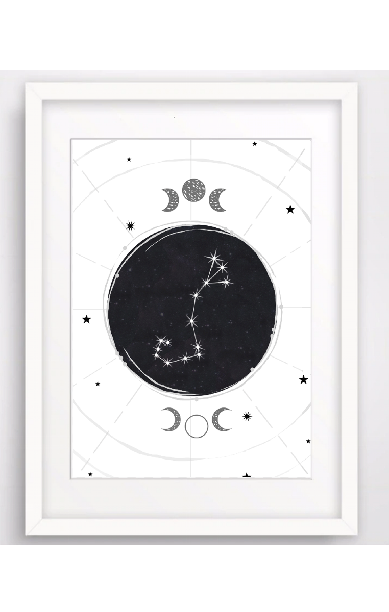 Zodiac Constellation A4 Print RRP £4.99-£9.99