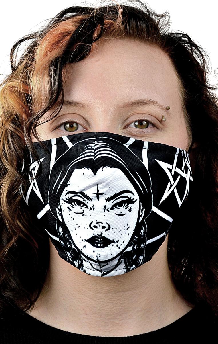 Wednesday Occult Mask