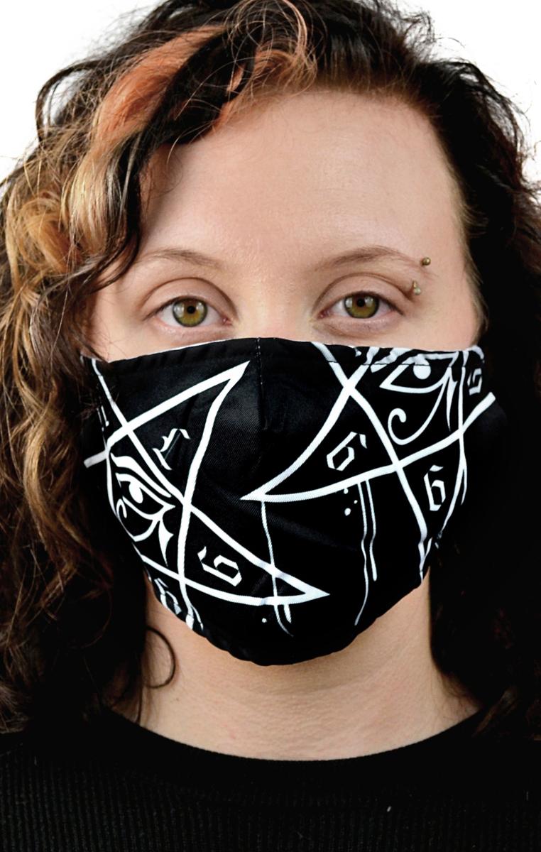 Dripping Pentagram Mask