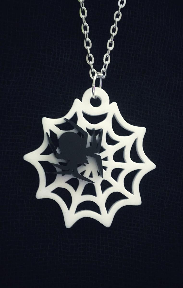 Cobweb Necklace