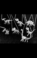 Dino Skeleton Necklaces - Choose your Dino