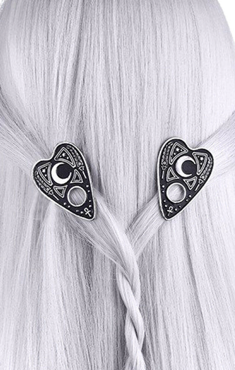 Ouija Planchette Hairclips