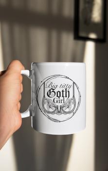 Big Titty Goth Girl Mug