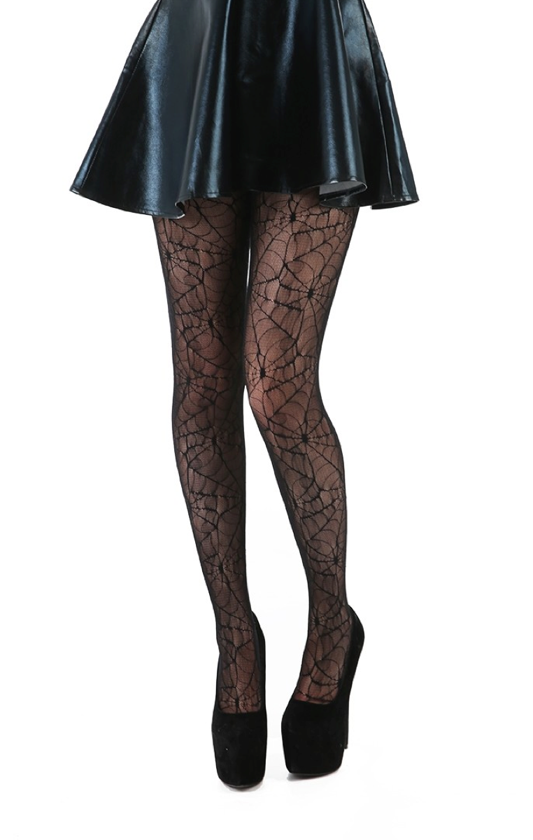 All Over Cobweb Tights
