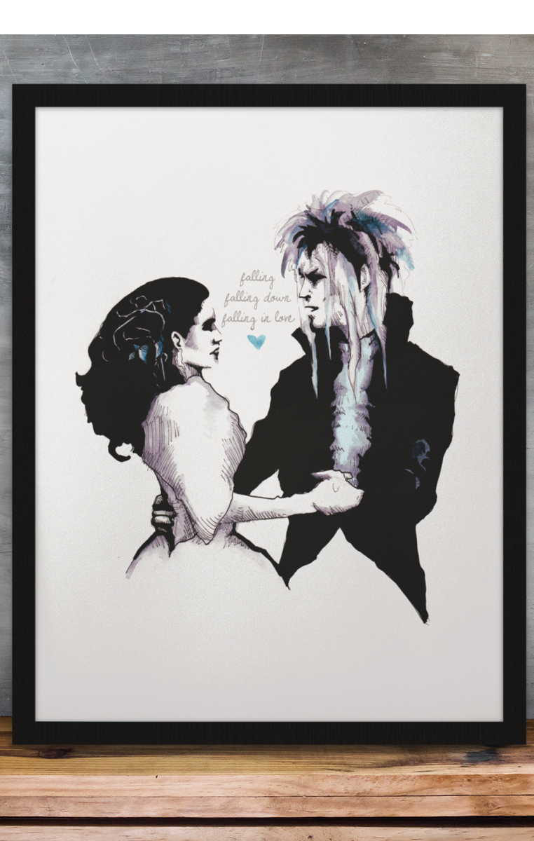 Falling In Love A4 Print RRP £4.99-£9.99