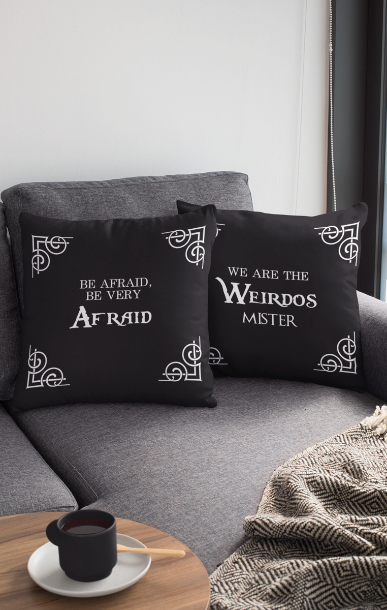 Iconic Quote Cushion Cover