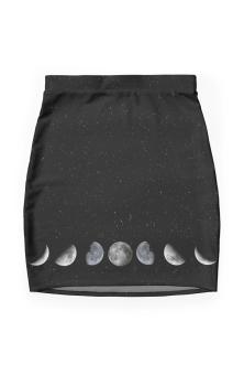 Phases Pencil Skirt