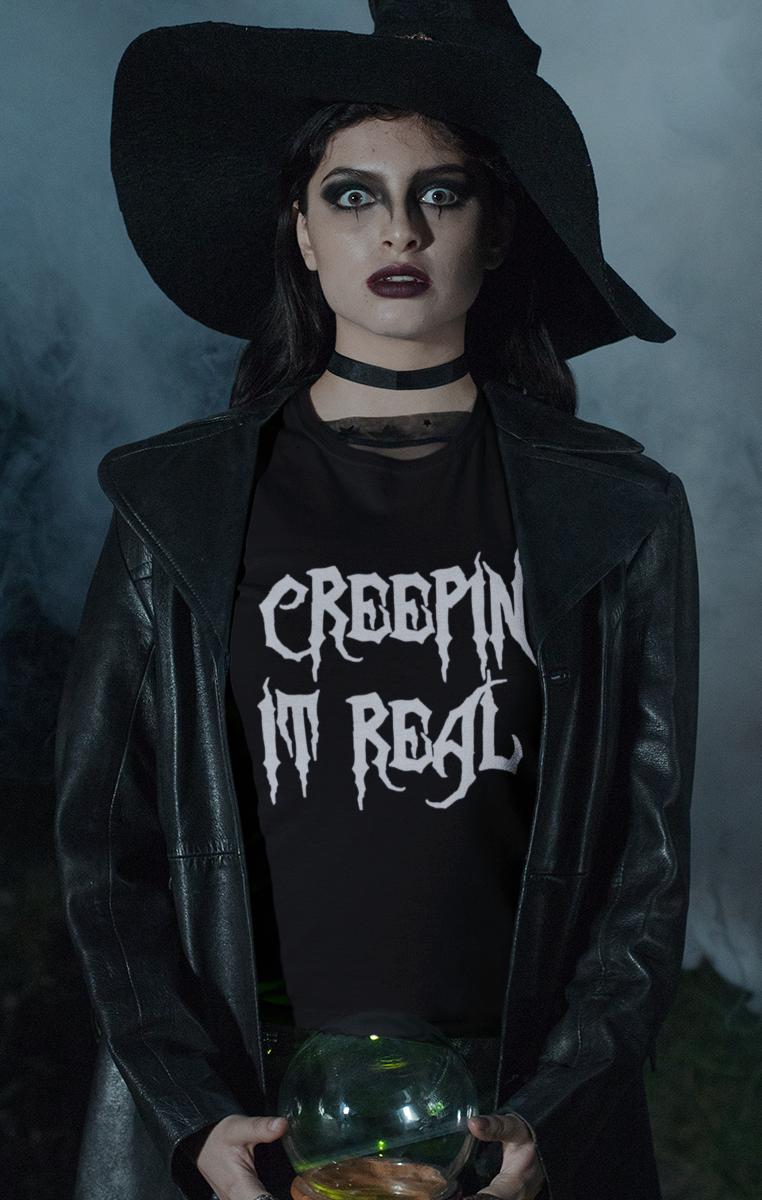 Creepin' It Real Tshirt RRP £19.99